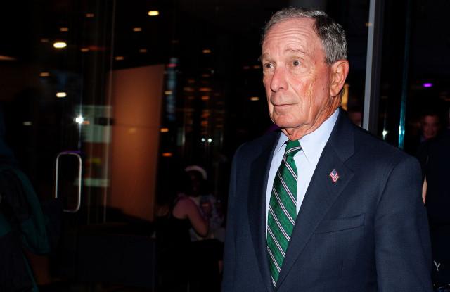 Michael Bloomberg  Lexie Moreland/WWD
